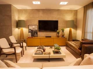 Carolina Fagundes - Arquitetura e Interiores 客廳