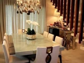 Sala de Jantar - C|H: Salas de jantar  por Carolina Fagundes - Arquitetura e Interiores