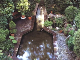 Ogród Azjatycki ogród od Architektura krajobrazu- naturalne systemy uzdatniania wod Azjatycki