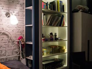 Tak mieszka studentka w Warszawie. : styl , w kategorii Sypialnia zaprojektowany przez EnDecoration