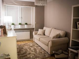 Mieszkanie w Wysokim Mazowiecku Nowoczesne domowe biuro i gabinet od EnDecoration Nowoczesny