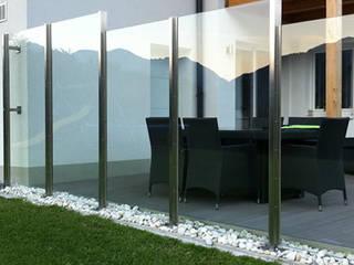 Windfang, Windschutz Moderner Balkon, Veranda & Terrasse von Stalmach Group Modern