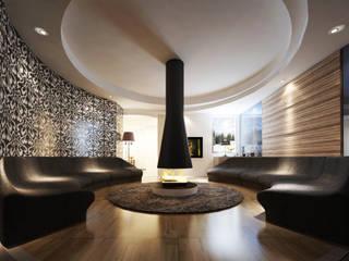 Ekofen ısı sistemleri Modern Living Room