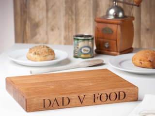 Oak Chopping Boards de House of Carvings Minimalista