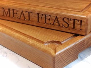 Oak Chopping Boards:   by House of Carvings