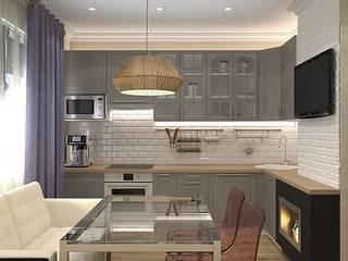 Квартира в Орехово: Кухни в . Автор – Design ,