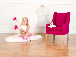 Pink child chair:   by Treasure Chairs