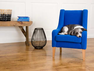 Royal Blue child chair:   by Treasure Chairs
