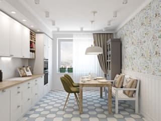 scandinavian Kitchen by Ekaterina Donde Design