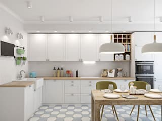 Scandinavian style kitchen by Ekaterina Donde Design Scandinavian