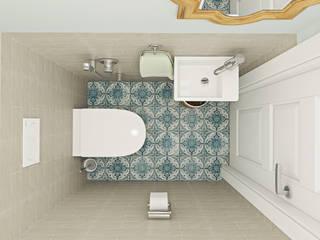 Skandinavische Badezimmer von Ekaterina Donde Design Skandinavisch