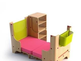 łóżeczko dziecięce - faza 3: styl , w kategorii Pokój dziecięcy zaprojektowany przez Grupa projektowa odRzeczy