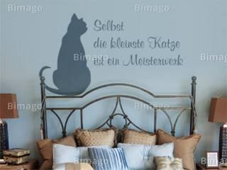Selbst die kleinste Katze ist ein Meisterwerk.:   von Bimago