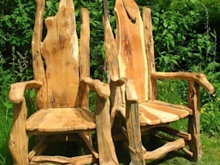 Garden Furniture: rustic  by Free Range Designs, Rustic