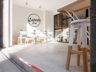 """cafetería """"La Torta"""". Pontevedra Obras y Reformas Poio Bares y clubs de estilo moderno"""