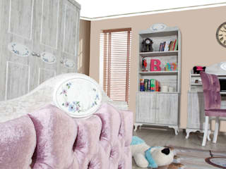 Angel Youth Bedroom Set Alım Mobilya Akdeniz
