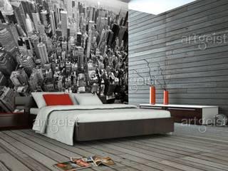 Kamar Tidur Gaya Industrial Oleh artgeist Industrial