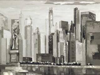 New-York legend:  de style  par ART CONTEMPORAIN.COM