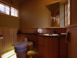 風建築工房 Modern Bathroom