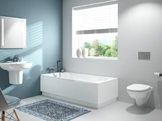 AM Badkamers - Direct flush / Rimmfree Moderne badkamers van AM Badkamers Modern