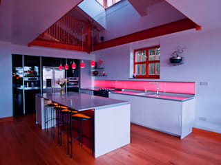 Private Residence, Devon:  Kitchen by LiteTile Ltd
