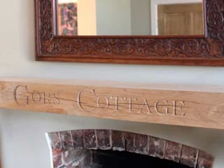 Shelves & Mantlepiece:   by House of Carvings