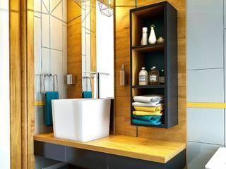 Penintdesign İç Mimarlık 現代浴室設計點子、靈感&圖片