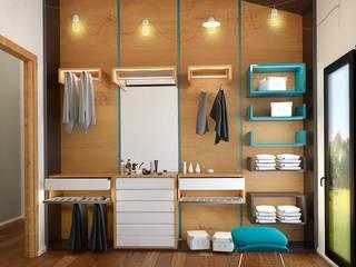 Closets de estilo moderno de Penintdesign İç Mimarlık Moderno