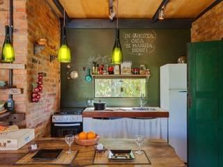 Cocinas de estilo  de Ferraro Habitat, Rústico