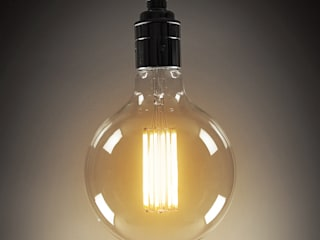 LED Filament Bulbs - Large Globe:   by C. Smith & Co