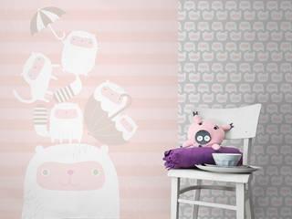Fototapete + Tapete Happy kittens:   von Designstudio DecorPlay