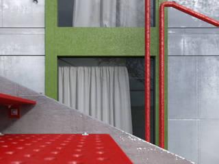 Dom na skarpie: styl nowoczesne, w kategorii Domy zaprojektowany przez Seryjny Projektant