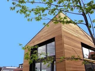 Maison individuelle PASSIVE Maisons modernes par ELEMENT 9 Moderne