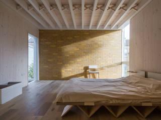 House of Trace Minimalist Yatak Odası TSURUTA ARCHITECTS Minimalist