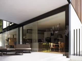Dom X 1.0 od STOPROCENT Architekci Minimalistyczny