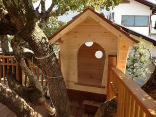 ツリーハウス: 株式会社フィンオールが手掛けた庭です。