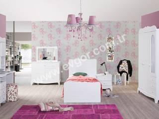 En Şık Kız Çocuk Odaları Ev Gör Mobilya Sanayi Tekstil ve Ticaret LTD. ŞTİ. Kolonyal