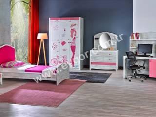 En Şık Kız Çocuk Odaları Ev Gör Mobilya Sanayi Tekstil ve Ticaret LTD. ŞTİ. Endüstriyel