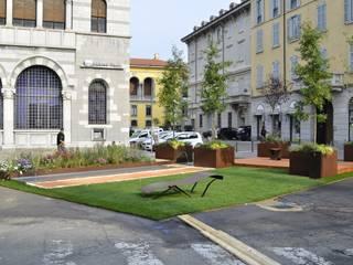 oxINOXONIxo: Giardino in stile in stile Moderno di Glauco Pertoldi - Landscape and Garden Design