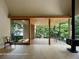 atelier137 ARCHITECTURAL DESIGN OFFICE Modern Living Room