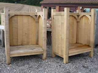 The Settle de Green Oak Furniture Ltd Rural
