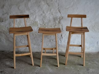 'Blend' Whisky barrel stool de Clachan Wood Moderno
