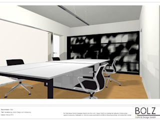 Visualisierung Büro in Saarbrücken:   von Bolz Licht & Wohnen