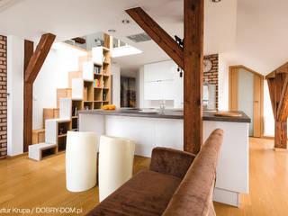 GACKOWSKA DESIGN Cocinas de estilo moderno