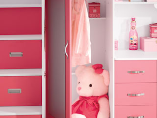 Roze hoogslaper voor meisjes 'Chica' van JeEigenKamer.nl Eclectisch