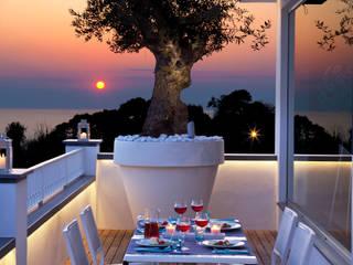 Balcones y terrazas de estilo  por PDV studio di progettazione