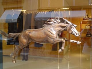 Chloe Horse:   by Gill Parker sculpture