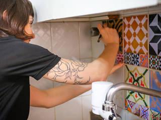 Adesivo de azulejo hidráulico para cozinha ZAP CuisineAccessoires & Textiles