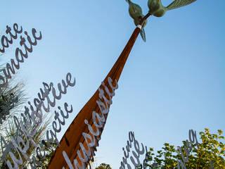 'Kinetic Seed Sculpture' School Project:  Schools by David Watkinson Sculpture