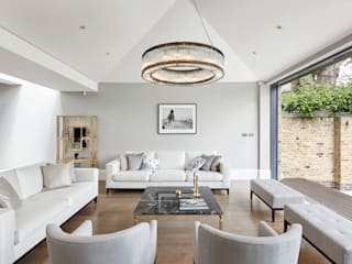 London Art de Vivre Modern living room by Sophie Nguyen Architects Ltd Modern